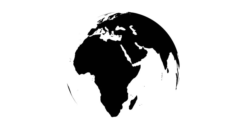 Black planet graphic background