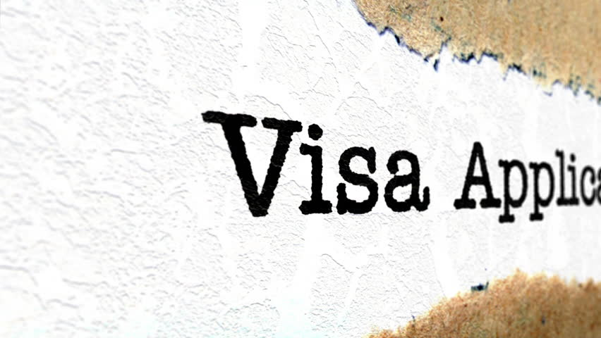 Header of visa