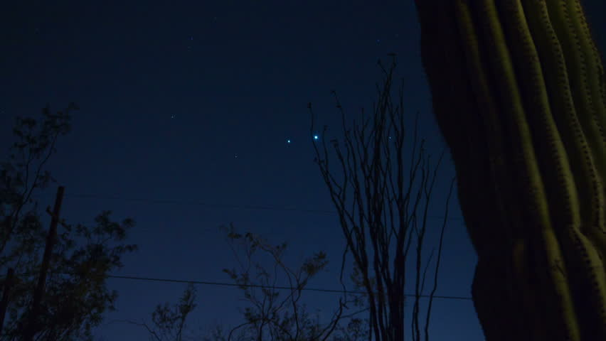 HD 30p wide - 2012 alignment of Jupiter and Venus in time lapse