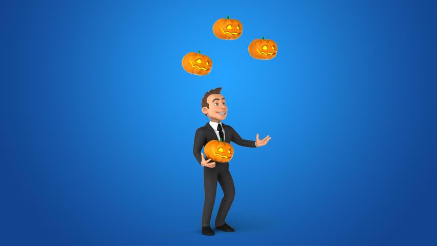 Fun businessman - 3D Animation   Shutterstock HD Video #32431039