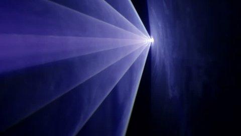 Violet Lighthouse Beam Vortex