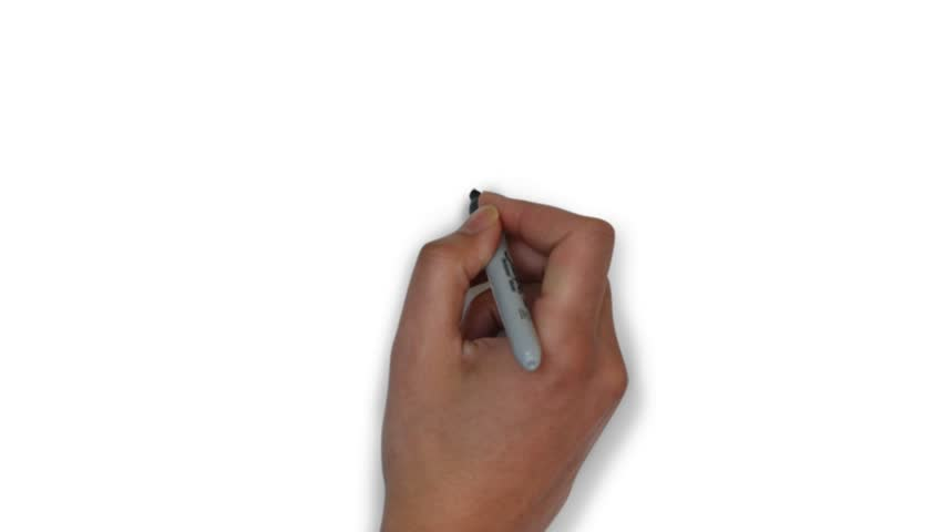Whiteboard animation of space rocket, drawing space rocket on whiteboard | Shutterstock HD Video #32637373