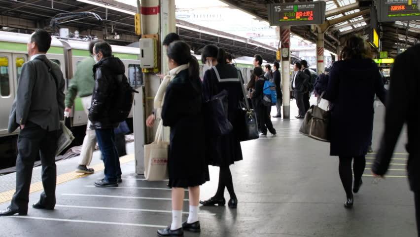 London, Uk - July 21 Train Travelers Walk Through The -4289