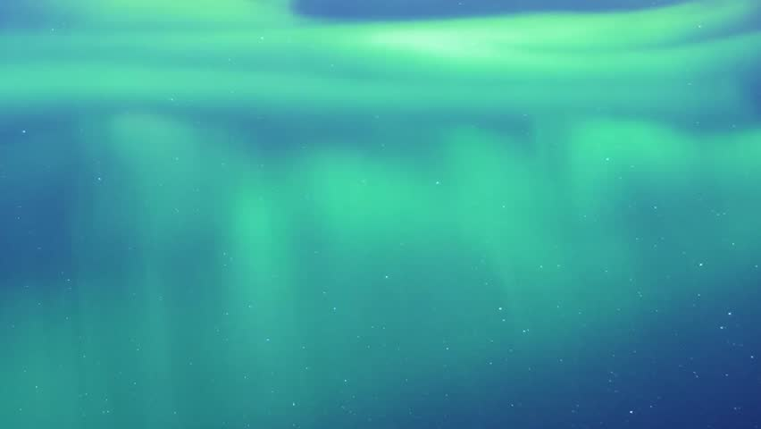NORTHERN LIGHTS, AURORA COLOUR. CLEAR WEATHER. Northern Lights on the Arctic sky, Green / Blue Northern Lights dancing over the sea, Northern lights (Aurora Borealis) in a cloudless night sky, FHD. | Shutterstock HD Video #32782219