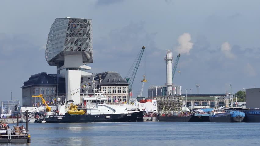 Antwerp Port Authority Zaha Hadid