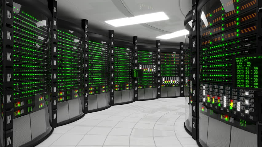 Blackout In Server Room Stock Footage Video 5368298 | Shutterstock