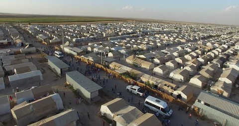 Sanliurfa,Turkey syrian refugees camp