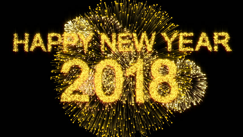 2018 New Year firework