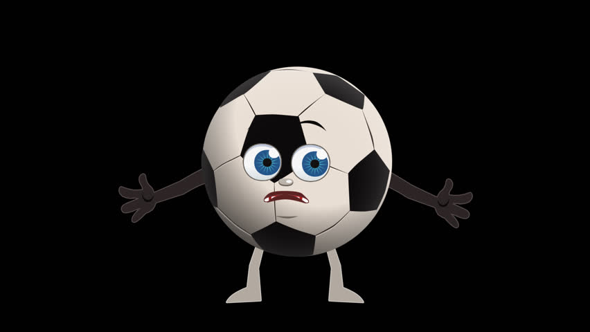 Hd0006Cartoon Soccer Ball Not Know Animation With Alpha Channel