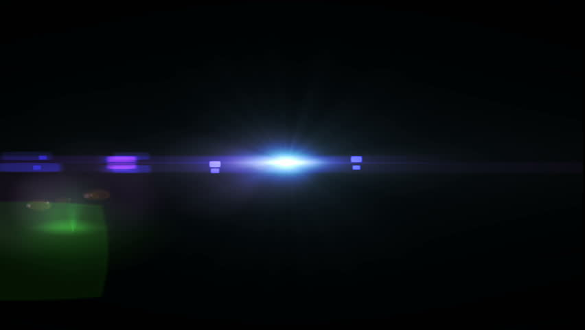 Flashlight & Flare theme light streak on black background | Shutterstock HD Video #33087589