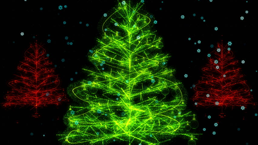 Holographic Christmas Tree.Christmas Tree Hologram Stock Footage Video 100 Royalty Free 33106879 Shutterstock