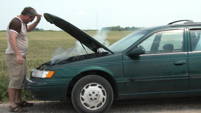 Car Broke Down >> With Car Broken Down Man Stock Footage Video 100 Royalty Free 3314699 Shutterstock