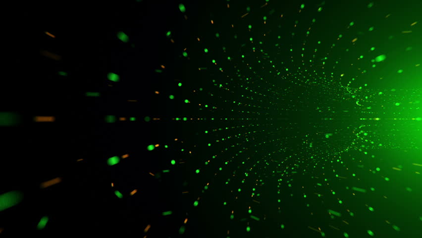 Abstract background with flying into digital tunnel from flickering particles   Shutterstock HD Video #33194116