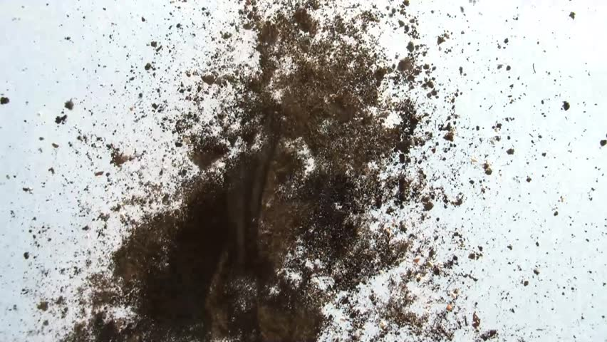 Dirt explosion texture