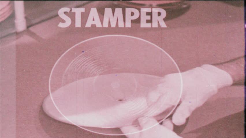 Header of stamper