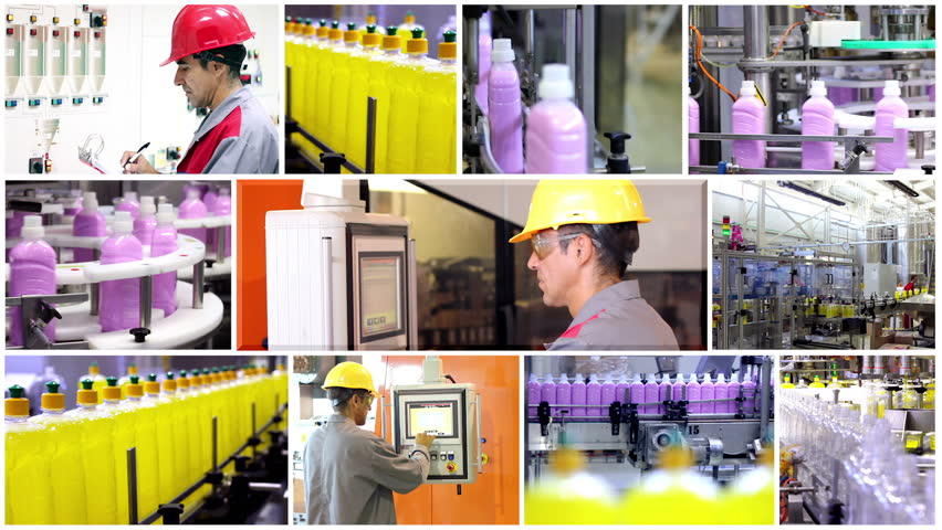 Detergent Bottling Plant.