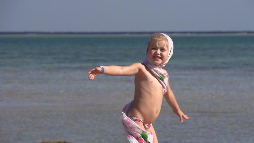 Girl On Beach Video