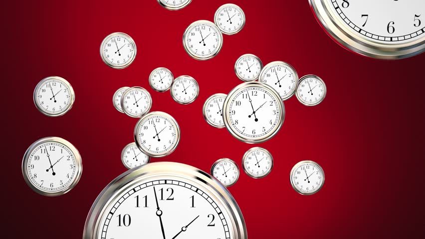 Last Chance Clocks Running Out Time Hurry 3d Animation