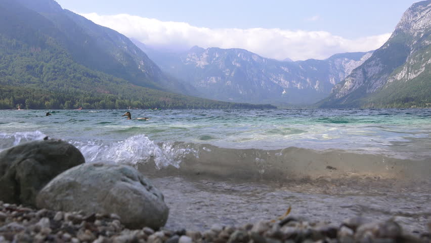 Ungraded Footage of Lake Bohinj Stock Footage Video (100% Royalty-free)  33429139 | Shutterstock