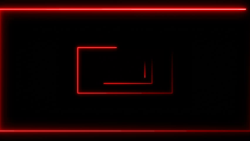 Abstract background with neon rectangles. Seamless loop | Shutterstock HD Video #33703639