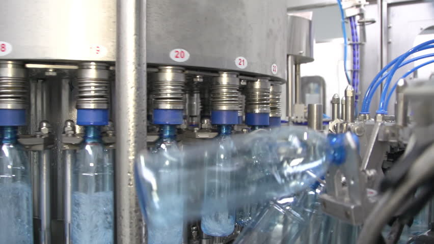13fdab2660 Prores. Bottle Factory. Industrial Machine-tool. Stock Footage Video ...