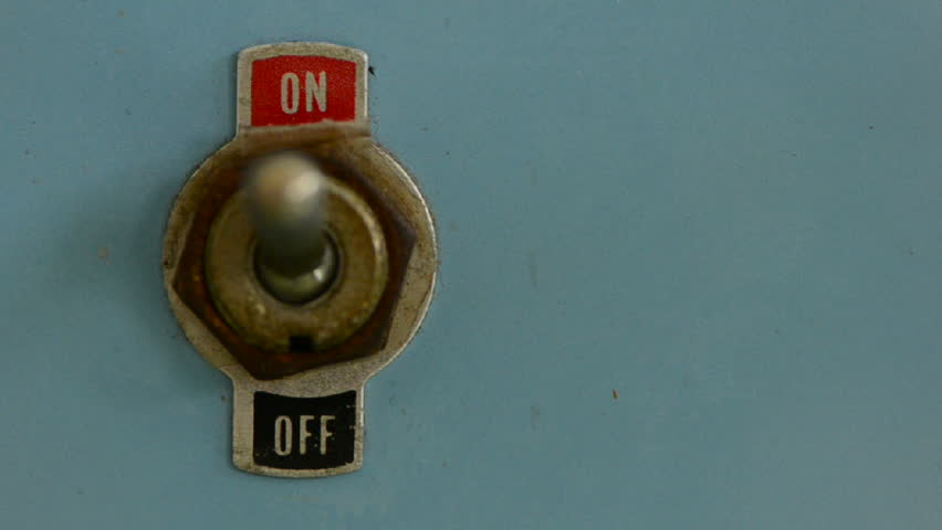 switch on/off of a switch