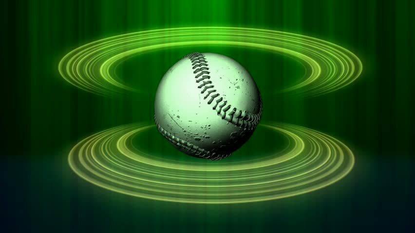 Spinning Baseball Green Halos Abstract Stock Footage Video (100% Royalty-free) 34149529 | Shutterstock