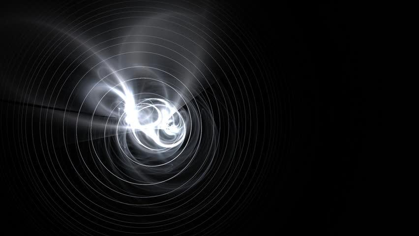 Abstract Liquid metal bullseye | Shutterstock HD Video #341959