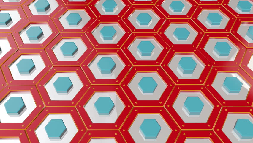 Honeycomb Grid Animation | Shutterstock HD Video #34211269