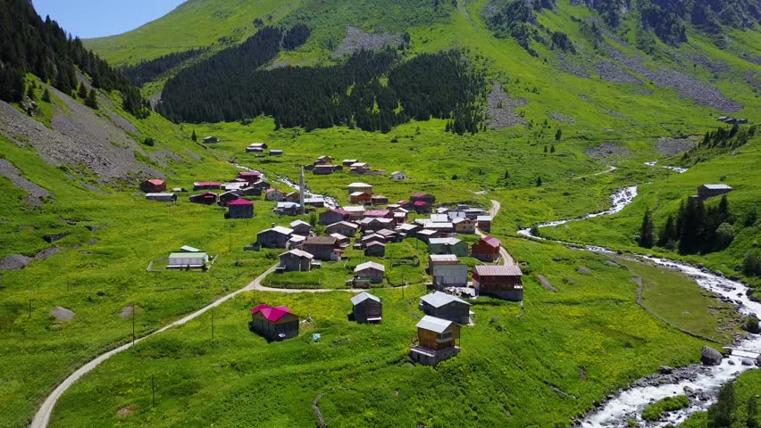 Elevit Plateau is the most beautiful places of the black sea Rize Turkey
