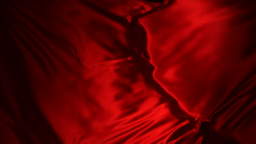 Red silk fabric flying in the air shooting with high speed camera, phantom flex. | Shutterstock HD Video #3442469