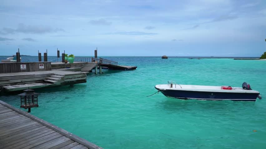 Holiday in paradise, Maldives #34707859