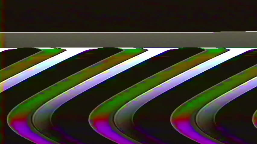 Analog Abstract Video Signal Noise FeedBack Manipulation | Shutterstock HD Video #34757659