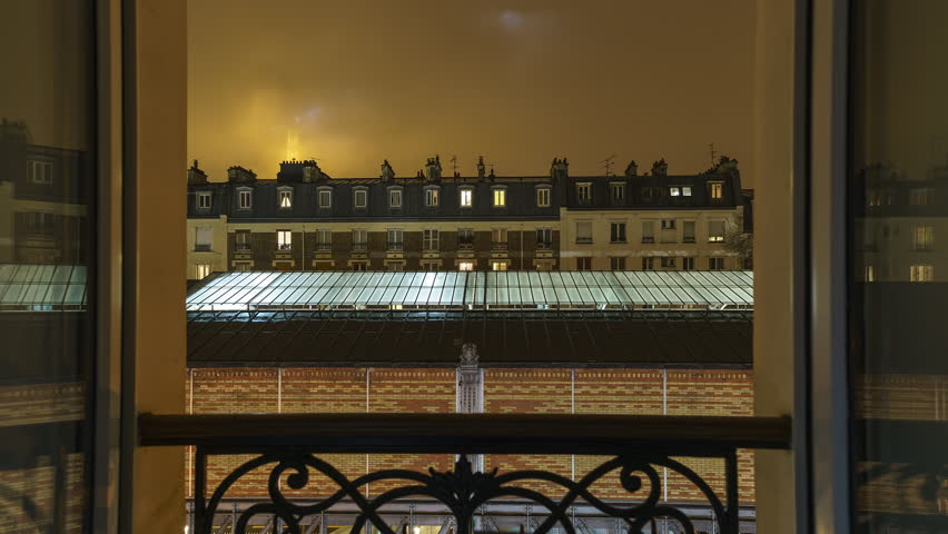 A foggy time lapse of Paris | Shutterstock HD Video #34856887