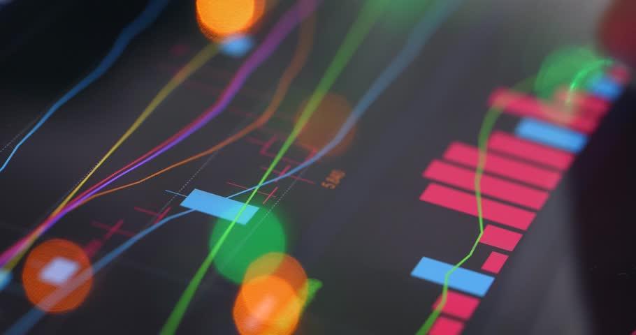 Stock market data on tablet computer | Shutterstock HD Video #34946548