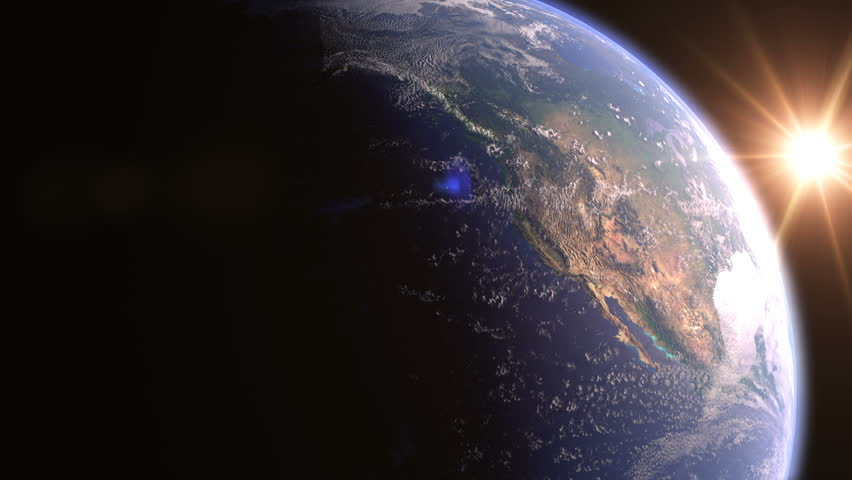 North America, View From Space | Shutterstock HD Video #35030449