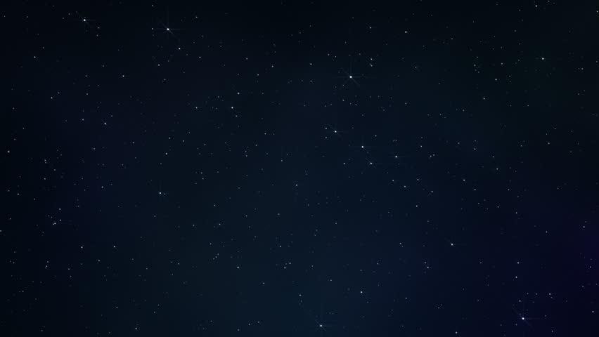Sparkling night sky in space | Shutterstock HD Video #35065039