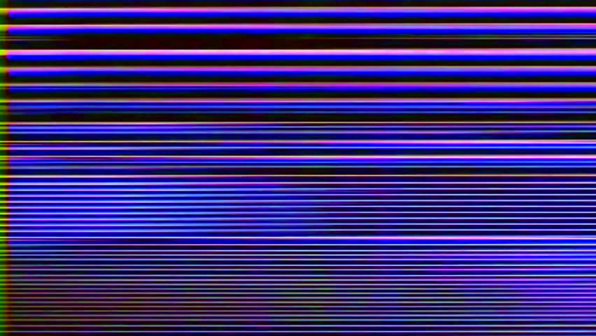 Analog Abstract Video Signal Noise FeedBack Manipulation | Shutterstock HD Video #35065219