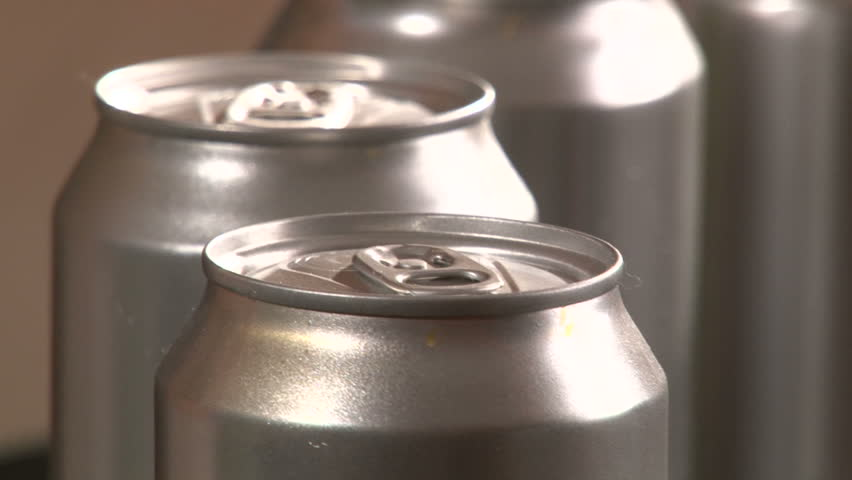 Aluminum Cans, Factory, 2 clips