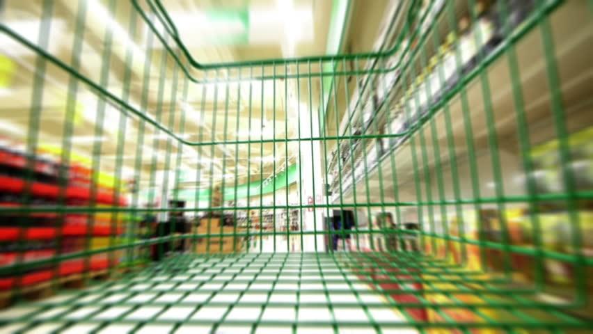HD - Supermarket | Shutterstock HD Video #3550073