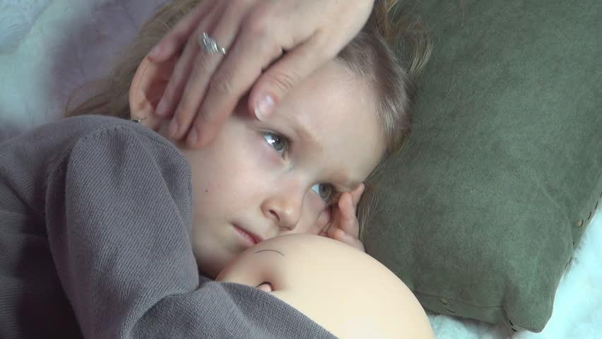 Child Sneezing Stock Footage Video | Shutterstock