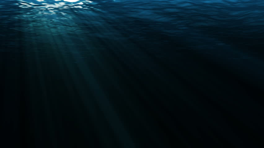 high quality perfectly seamless loop of deep blue ocean
