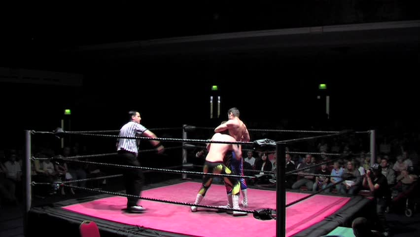 Portsmouth - May 26: Wrestler Stock Footage Video (100% Royalty-free)  3592229 | Shutterstock