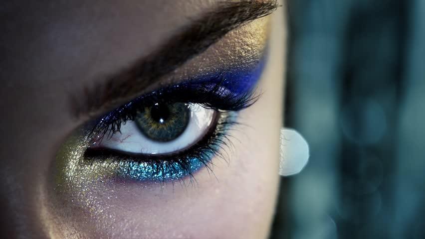 Human eye close up beauty macro   Shutterstock HD Video #3668675