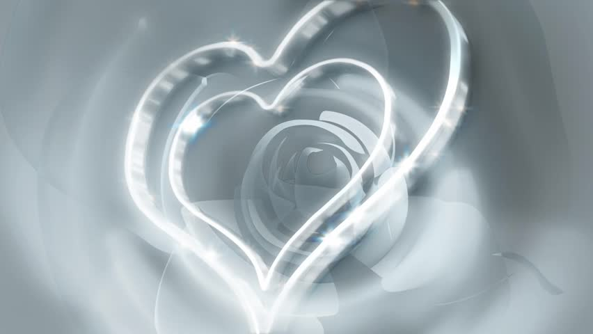 silver heart background stock footage video shutterstock