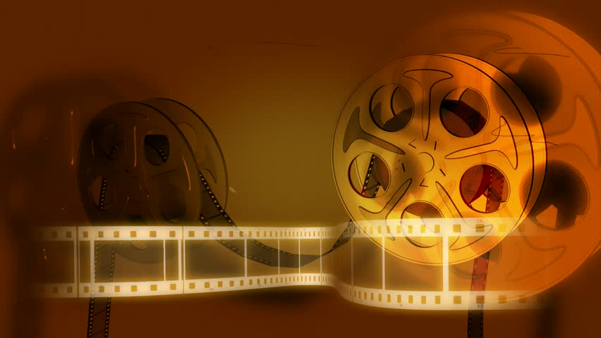 Old Fashioned Film Reel Animation | Shutterstock HD Video #3673922