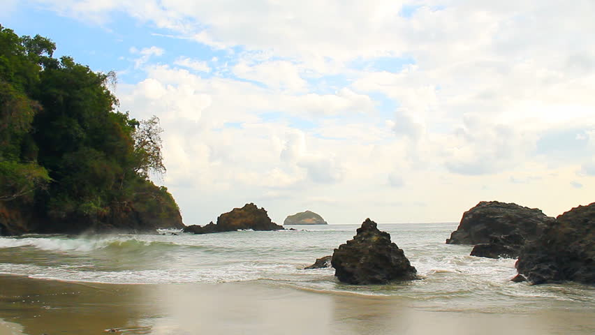 Manuel Antonio Beach Costa Rica 1. Manuel Antonio National Park beach in Costa Rica.
