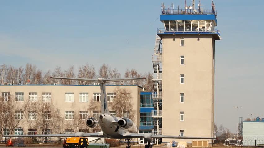 Ufa Russia April 16 International Airport On 2017 In