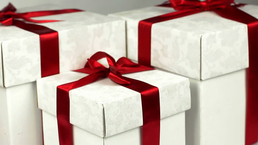 Gift boxes with beautifull ribbon