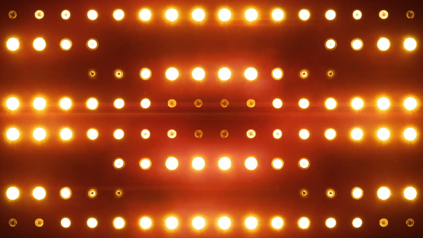 Bright floodlights flashing and forming figures. Orange. SEE MORE COLOR OPTIONS IN MY PORTFOLIO.  SEE MORE COLOR OPTIONS IN MY PORTFOLIO. | Shutterstock HD Video #3823799